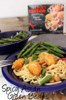 LEAN CUISINE® Marketplace a Healthier Lunch for Busy Moms & a Recipe for Spicy Asian Green Beans