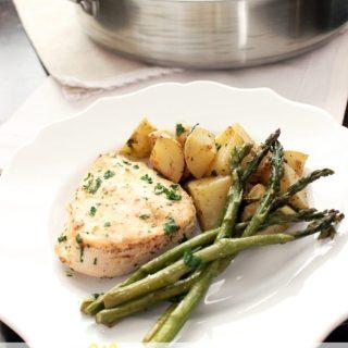 Lemon Chicken & Vegetable Skillet