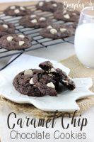 Caramel Chip Chocolate Cookies