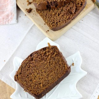 Cinnamon Spice Sweet Potato Bread