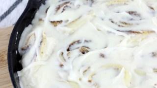 Quick & Easy No Rise Cinnamon Rolls