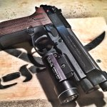 Beretta 92A1 double action/single action pistol