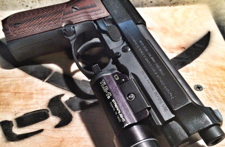 Beretta 92A1 double action/single action pistol