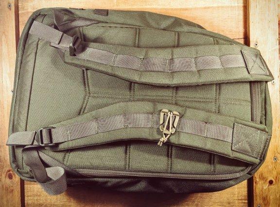 GoRuck GR1 shoulder straps