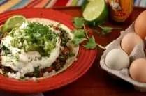 Healthy Huevos Rancheros from www.everydaymaven.com