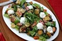 Eggplant Parmesan Salad from www.everydaymaven.com