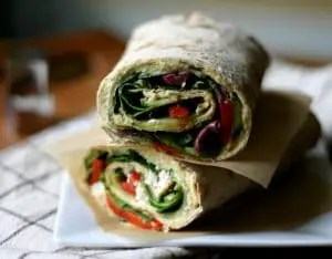 Hummus Lavash Wraps from www.everydaymaven.com