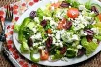 Simple Greek Salad from www.everydaymaven.com