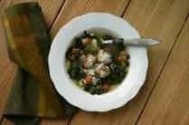 Skinny Italian Wedding Soup from www.everydaymaven.com