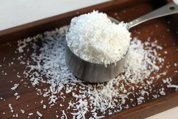 Unsweetened Shredded Coconut from www.bluekaleroad.com