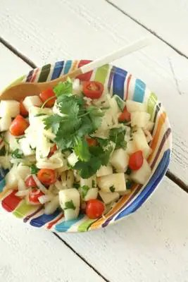 Herbed Jicama Salad from www.everydaymaven.com