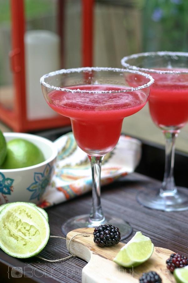 Blackberry Margaritas Recipe from www.everydaymaven.com