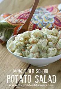 Mom's Potato Salad from www.everydaymaven.com