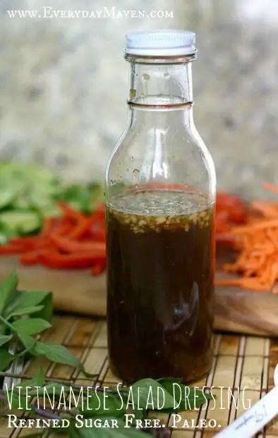 Vietnamese Salad Dressing from www.EverydayMaven.com