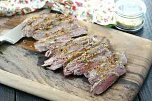 London Broil with Onion Soup Mix from www.EverydayMaven.com