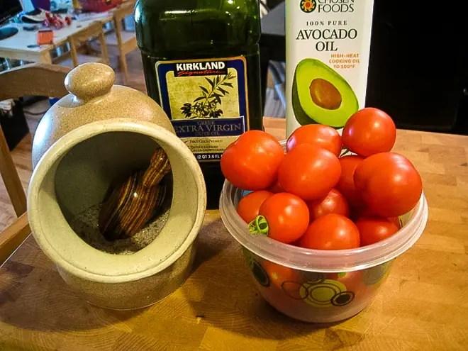 ingredients to make tomato salad recipe