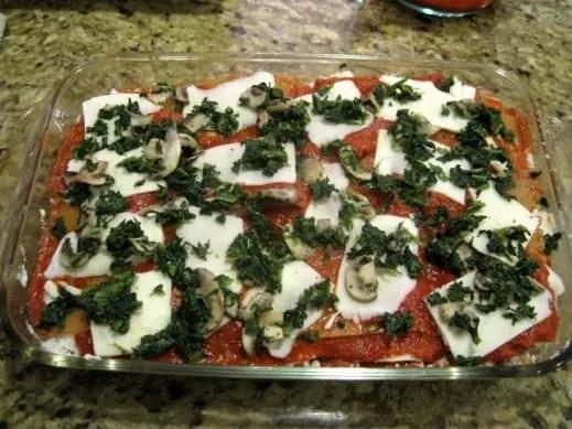 Gluten Free Vegetarian Lasagna from www.EverydayMaven.com