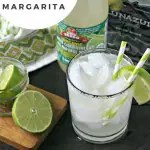 The Skinniest Skinny Margarita from www.EverydayMaven.com