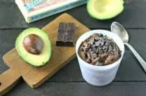Chocolate Avocado Pudding from www.EverydayMaven.com