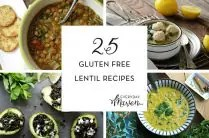 25 Gluten Free Lentil Recipes from www.EverydayMaven.com