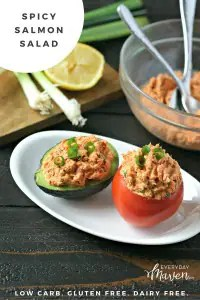 Spicy Salmon Salad from www.EverydayMaven.com