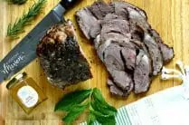 Mint and Honey Boneless Leg of Lamb