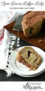 Gluten Free Sour Cream Coffee Cake from www.EverydayMaven.com
