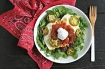 Gluten Free Mexican Breakfast Bowl from www.EverydayMaven.com