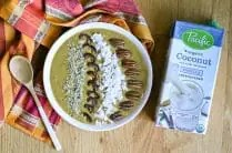 Pumpkin Spice Smoothie Bowl from www.EverydayMaven.com