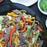 Grilled Beef Fajitas from www.EverydayMaven.com