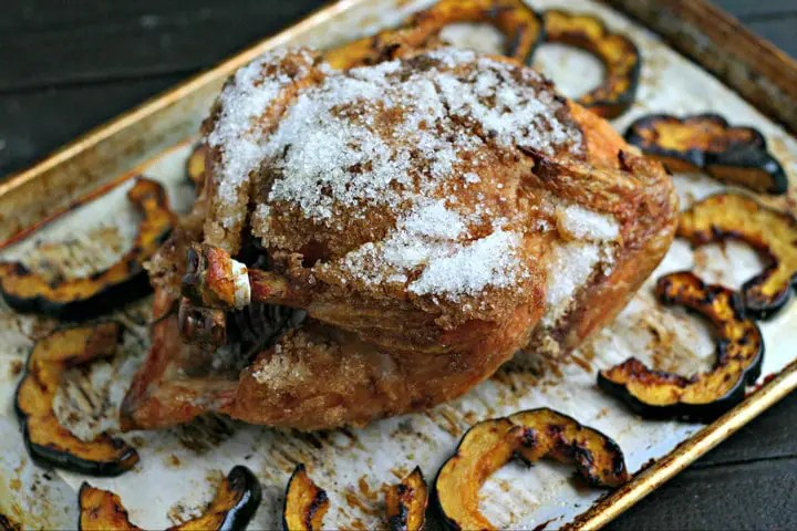 Salt Crust Roasted Chicken Recipe from www.EverydayMaven.com