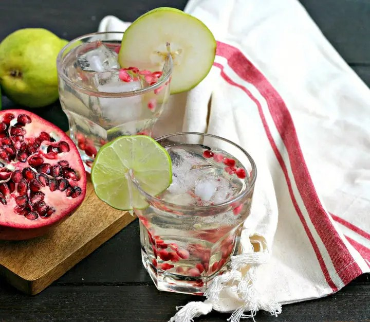 White Winter Sangria Recipe from www.EverydayMaven.com