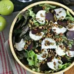 Thanksgiving Salad with Thyme Balsamic Vinaigrette from www.EverydayMaven.com