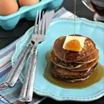 3 Ingredient Plantain Pancakes from www.EverydayMaven.com