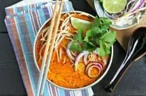 Northern Thai Curry Soup with Chicken from www.EverydayMaven.com