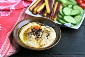 Instant Pot Hummus from www.EverydayMaven.com