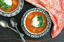 Instant Pot Red Lentil Soup with Butternut Squash from www.EverydayMaven.com
