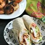 Gluten Free Mediterranean Grilled Shrimp Wraps from www.EverydayMaven.com