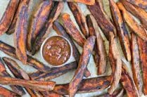 Sweet Potato Steak Fries from www.EverydayMaven.com