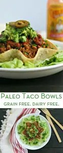 Paleo Taco Shell Bowl from www.EverydayMaven.com
