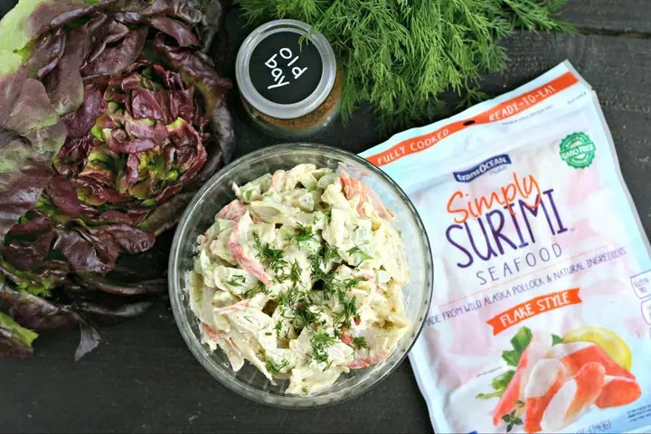 Old Bay Seafood Salad from www.EverydayMaven.com