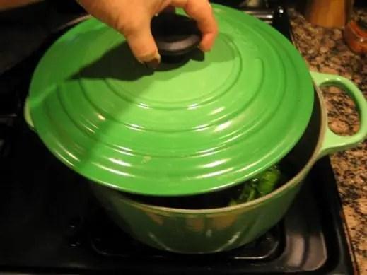 Creamy Vegan Collard Greens from www.EverydayMaven.com