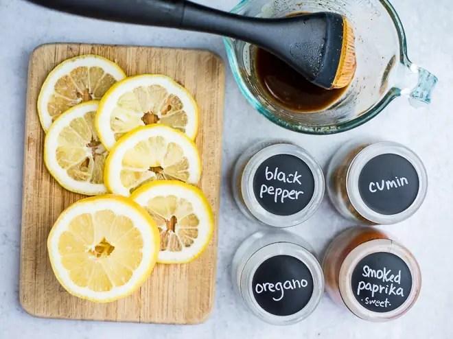 ingredients for lemon chicken breast recipe