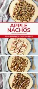 how to make apple nachos (step-by-step)