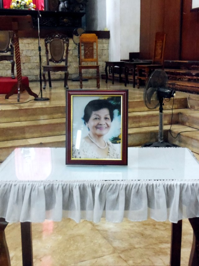 Goodbye Nanay! We are happy that you are with the Father!