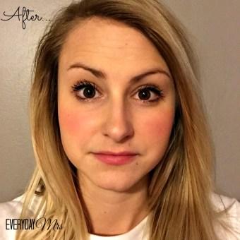 after mascara