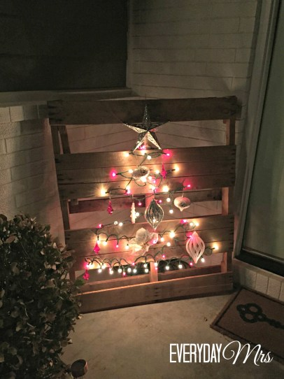 christmas front porch 4