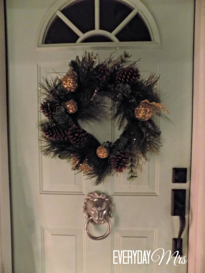 christmas front porch 5