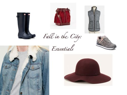 Fall in the City Packing List