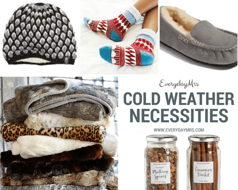 cold weather necessities